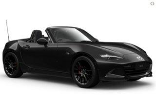 2021 Mazda MX-5 ND GT SKYACTIV-MT RS Black 6 Speed Manual Roadster.