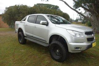 2013 Holden Colorado RG MY14 LTZ Crew Cab Silver, Chrome 6 Speed Sports Automatic Utility.