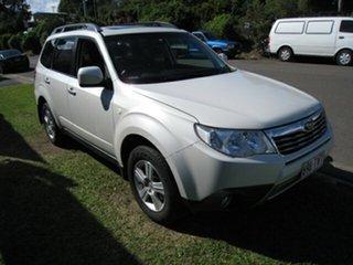 2009 Subaru Forester MY09 XS Premium White 4 Speed Auto Elec Sportshift Wagon