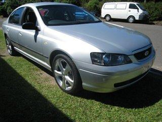 2004 Ford Falcon BA Finance $42 Per Week Silver 4 Speed Automatic Sedan.