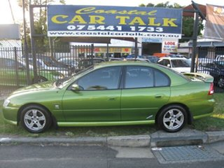 2002 Holden Commodore VY S Green 4 Speed Automatic Sedan.