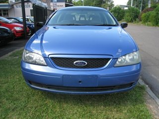 2003 Ford Falcon BA XT Blue 4 Speed Automatic Wagon.
