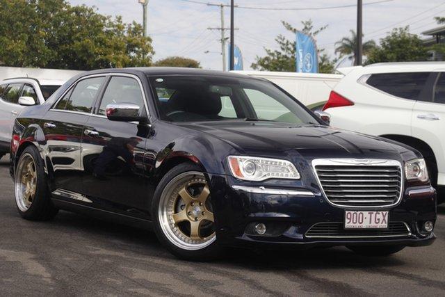 Used Chrysler 300 LX MY12 C E-Shift Mount Gravatt, 2012 Chrysler 300 LX MY12 C E-Shift Blue 8 Speed Sports Automatic Sedan