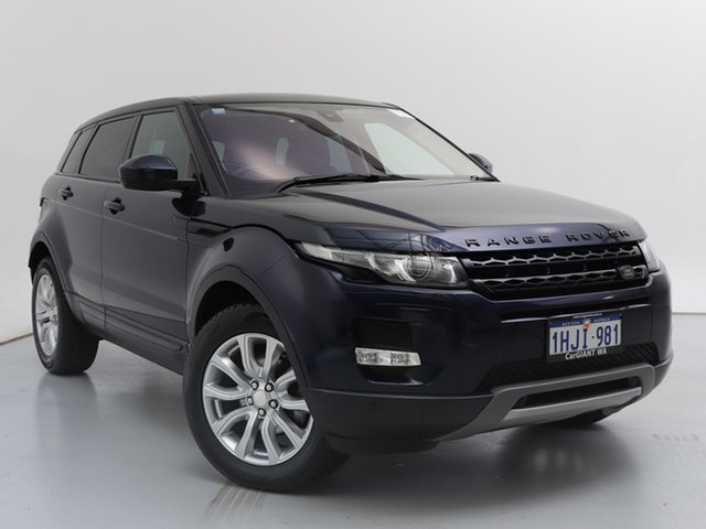 Used Land Rover Range Rover Evoque LV MY13 TD4 Pure, 2014 Land Rover Range Rover Evoque LV MY13 TD4 Pure Loire Blue 6 Speed Automatic Wagon