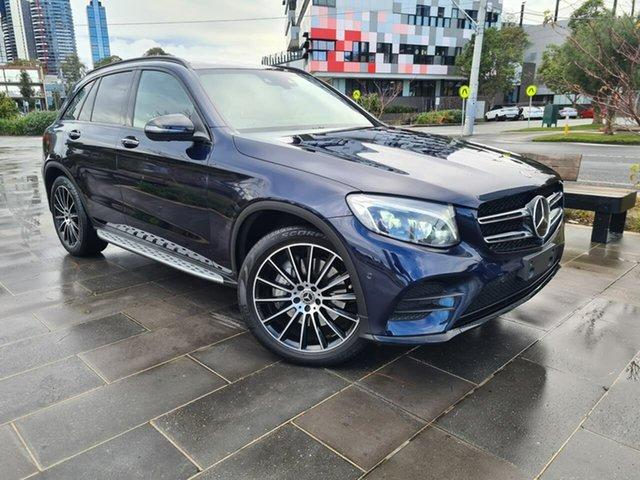 Used Mercedes-Benz GLC-Class X253 808MY GLC250 d 9G-Tronic 4MATIC South Melbourne, 2018 Mercedes-Benz GLC-Class X253 808MY GLC250 d 9G-Tronic 4MATIC Blue 9 Speed Sports Automatic