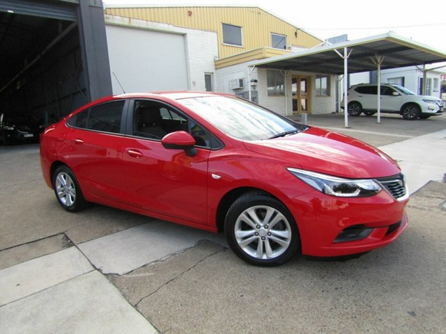Used Holden Astra BL MY17 LS+ Moorooka, 2017 Holden Astra BL MY17 LS+ Red 6 Speed Sports Automatic Sedan