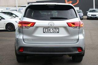 2017 Toyota Kluger GSU55R GX AWD Silver 8 Speed Sports Automatic Wagon