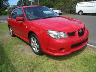 2005 Subaru Impreza RS, FINANCE $57 Per Week Red 5 Speed Manual Hatchback.