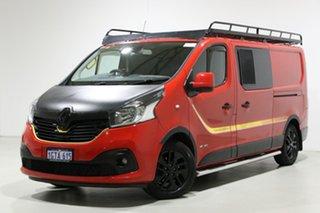 2018 Renault Trafic X82 MY18 Formula Edition LWB Red 6 Speed Manual Van.