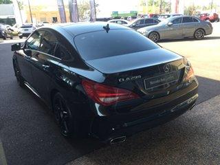 2014 Mercedes-Benz CLA-Class C117 CLA200 DCT Black 7 Speed Sports Automatic Dual Clutch Coupe