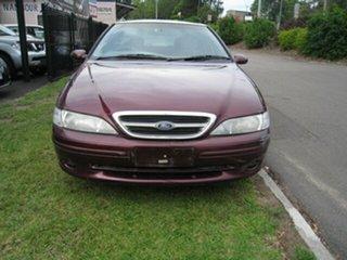 1997 Ford Fairmont EL Maroon 4 Speed Automatic Sedan.