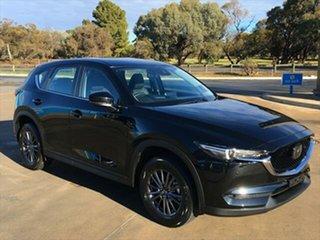 2021 Mazda CX-5 KF4WLA Touring SKYACTIV-Drive i-ACTIV AWD Jet Black 6 Speed Sports Automatic Wagon.