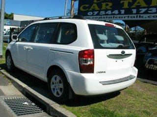 2008 Kia Carnival VQ EX White 5 Speed Automatic Wagon