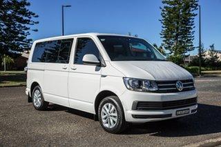 2019 Volkswagen Multivan T6 MY19 TDI340 LWB DSG Comfortline White 7 Speed.