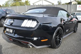 2016 Ford Mustang FM GT SelectShift Black 6 Speed Sports Automatic Convertible