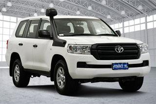2021 Toyota Landcruiser VDJ200R GX White 6 Speed Sports Automatic Wagon.