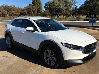 2021 Mazda CX-30 DM2W7A G20 SKYACTIV-Drive Evolve Snowflake White Pearl 6 Speed Sports Automatic.