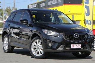 2013 Mazda CX-5 KE1021 Grand Touring SKYACTIV-Drive AWD Jet Black 6 Speed Sports Automatic Wagon.