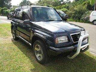 1995 Suzuki Vitara Finance  $66. Per Week Blue 4 Speed Automatic Wagon.