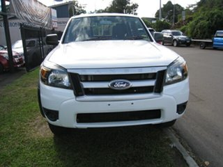 2009 Ford Ranger PK XL (4x4) White 5 Speed Manual Dual Cab Pick-up.