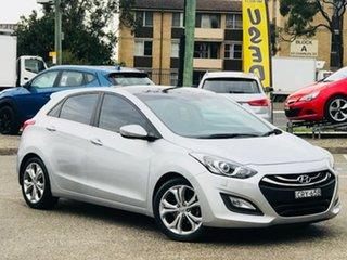 2013 Hyundai i30 GD Premium Silver, Chrome 6 Speed Sports Automatic Hatchback.
