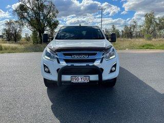 2019 Isuzu D-MAX MY19 LS-M Crew Cab Splash White 6 Speed Sports Automatic Utility