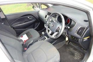 2012 Kia Rio UB MY12 SLi Cream 6 Speed Sports Automatic Hatchback