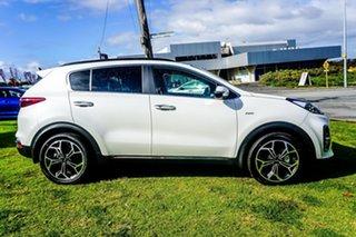 2021 Kia Sportage QL MY21 GT-Line AWD Snow White Pearl 8 Speed Sports Automatic Wagon.