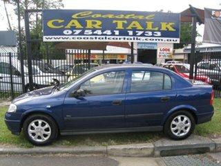 2003 Holden Astra TS Auto City Blue 4 Speed Automatic Sedan.