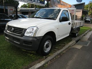 2006 Holden Rodeo RA MY06 Upgrade DX White 5 Speed Manual Cab Chassis.