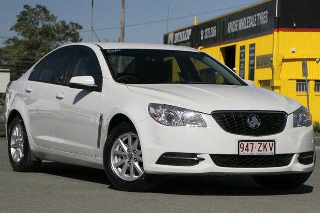 Used Holden Commodore VF MY14 Evoke Rocklea, 2014 Holden Commodore VF MY14 Evoke Heron White 6 Speed Sports Automatic Sedan