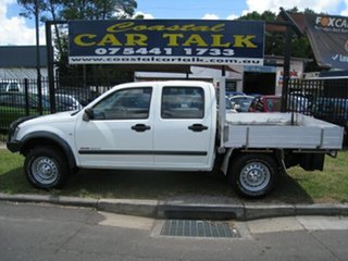 2006 Holden Rodeo RA Turbo Diesel LX 4X4 White 5 Speed Manual Dual Cab.