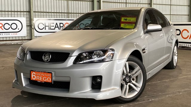 Used Holden Commodore VE MY09.5 SV6 Rocklea, 2009 Holden Commodore VE MY09.5 SV6 Silver 5 Speed Sports Automatic Sedan