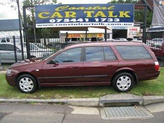 2005 Ford Falcon BA MkII XT Maroon 4 Speed Auto Seq Sportshift Wagon.
