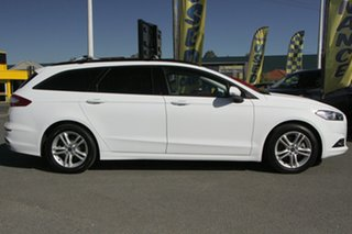 2017 Ford Mondeo MD 2018.25MY Ambiente Frozen White 6 Speed Sports Automatic Dual Clutch Wagon