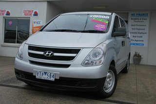 2009 Hyundai iLOAD TQ Silver 5 Speed Automatic Van.
