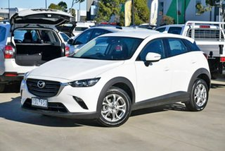 2020 Mazda CX-3 DK2W7A Maxx SKYACTIV-Drive FWD Sport White 6 Speed Sports Automatic Wagon.