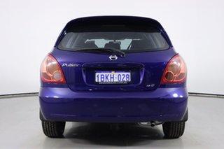 2003 Nissan Pulsar N16 MY03 Q Blue 4 Speed Automatic Hatchback