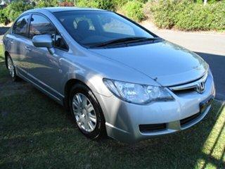 2008 Honda Civic MY08 VTi-L Silver 5 Speed Automatic Sedan