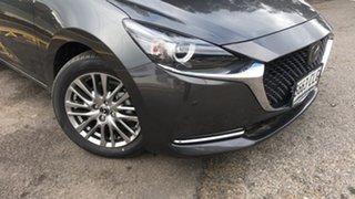 2021 Mazda 2 DJ2HAA G15 SKYACTIV-Drive GT Machine Grey 6 Speed Sports Automatic Hatchback.