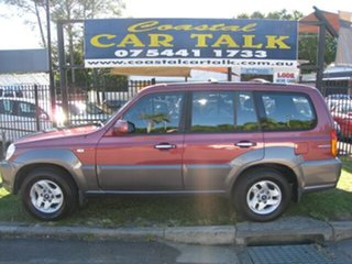 2003 Hyundai Terracan Highlander Maroon 5 Speed Manual Wagon.