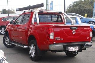2015 Nissan Navara D23 ST Red 6 Speed Manual Utility.