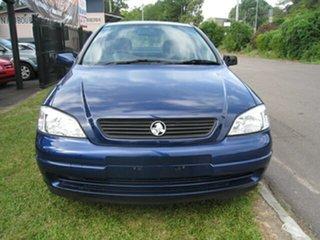 2003 Holden Astra Centrelink  Finance $66 Per Week Blue 4 Speed Automatic Sedan.