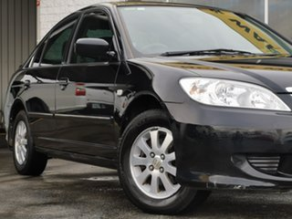 2005 Honda Civic 7th Gen MY2004 GLi Black/Grey 5 Speed Manual Sedan.