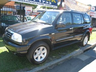 2001 Suzuki Vitara XL7 Finance $57 Per Week Black 5 Speed Manual Wagon.