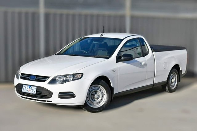 Used Ford Falcon FG MkII EcoLPi Super Cab Pakenham, 2012 Ford Falcon FG MkII EcoLPi Super Cab White 6 Speed Sports Automatic Cab Chassis
