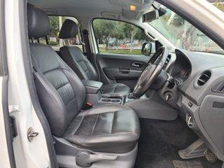 2014 Volkswagen Amarok 2H MY14 TDI420 4Motion Perm Highline White 8 Speed Automatic Utility