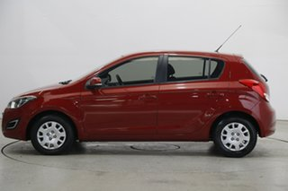 2015 Hyundai i20 PB MY16 Active Red Passion 6 Speed Manual Hatchback.