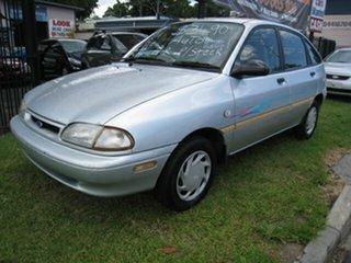 1995 Ford Festiva Auto, Finance $42.50 Per Week Silver 3 Speed Automatic Hatchback.