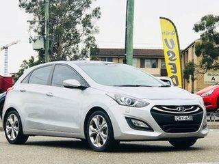 2013 Hyundai i30 GD Premium Silver, Chrome 6 Speed Sports Automatic Hatchback